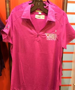 Women's IBMHOF Pink Polo