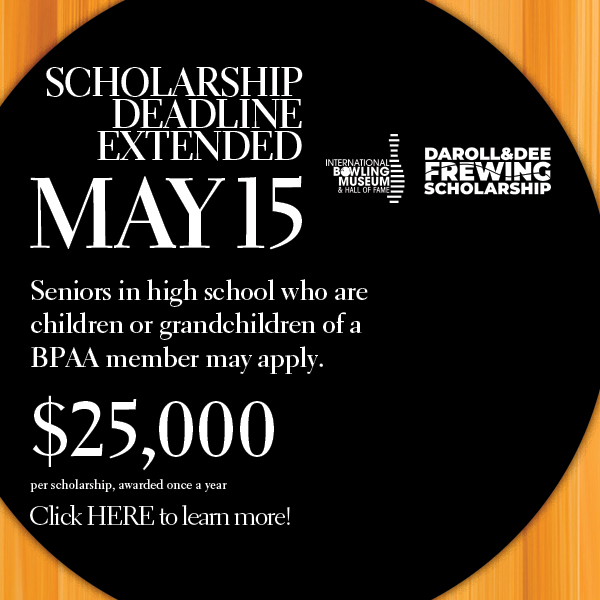 DEADLINE FOR $25,000 FREWING SCHOLARSHIP EXTENDED TO MAY 15