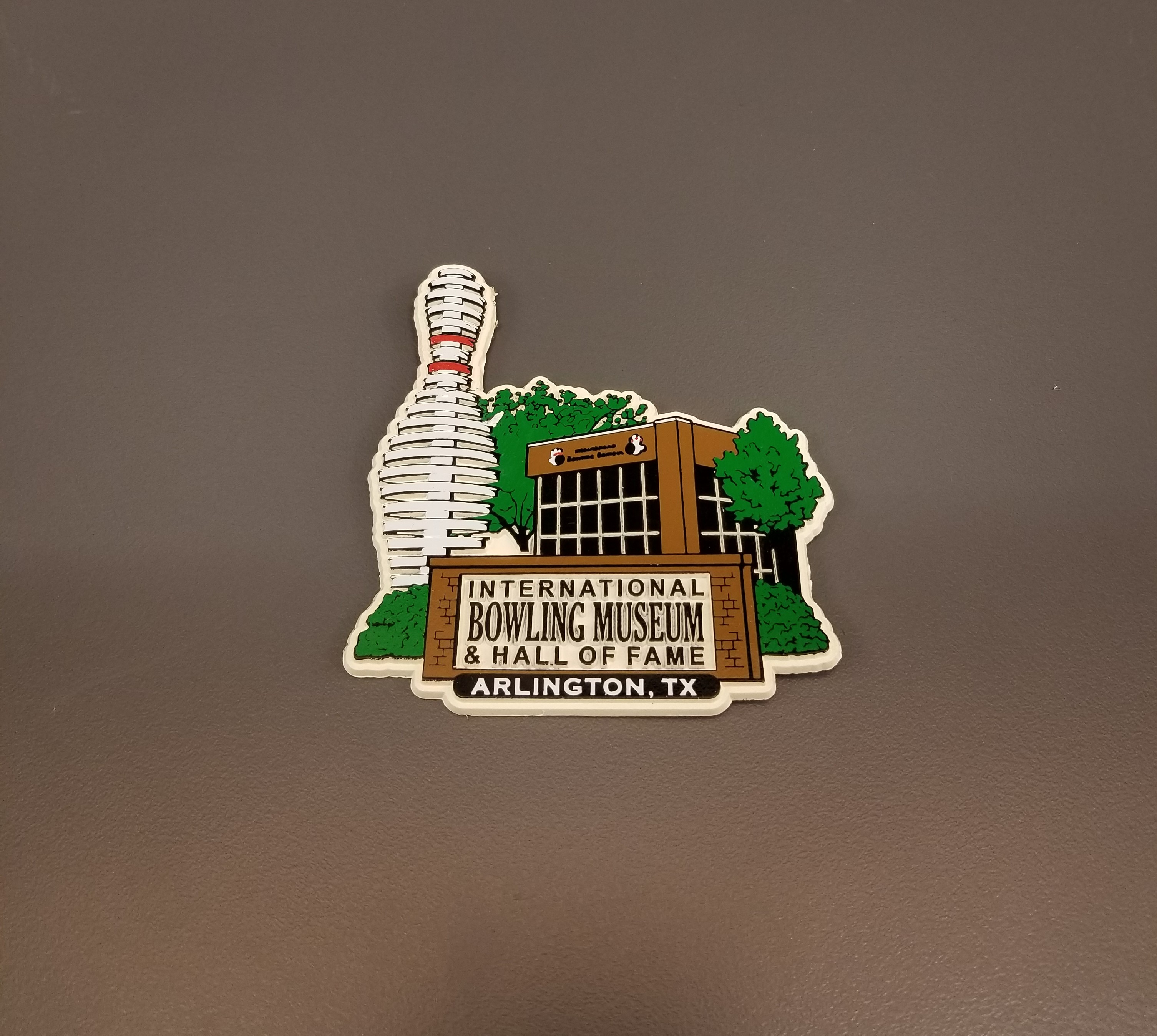 Hall of Fame Building Magnet