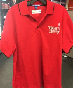 Red Men's Polo